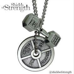 Shields of Strength fitness jewelry!