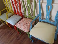 Multi color Dinette Set