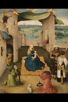 Adoration of the Magi, by Hieronymus Bosch