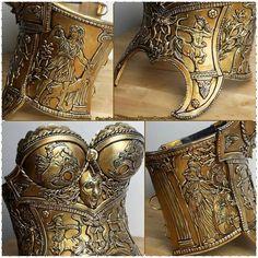 Custom Worbla Sagittarius armor by Erza - Cosplay. #CraftYourFandom