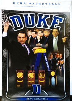 Mike Krzyzewski, Duke Basketball coach, TTM