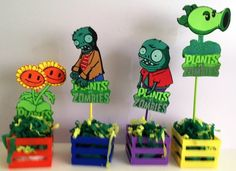 Zombies Party Decoration Birthday by mexicotraditions Zombie Party Decorations, Birthday Party Decorations, Party Favors, Plants Vs Zombies, Zombie Birthday Parties, Boy Birthday, Birthday Supplies, Party Supplies, Plantas Versus Zombies