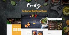 Foody - Luxury Restaurant WordPress Theme - Restaurants & Cafes Entertainment