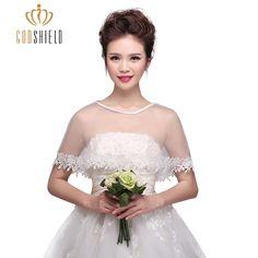 Bridal Wraps 2017 Summer White Lace Women Elegant Wedding Bolero Accessory Bridal shrug Bridal Jacket Dress Accessoire Mariage