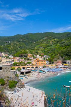 Monterosso - Cinque Terre, Italy #travel #italy #cinqueterre