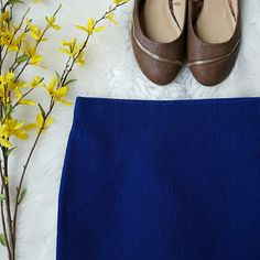 NWT {Forever 21} Royal Blue Bodycon Skirt -96% polyester, 3% elastane  -Soft, stretchy type of material  -New, with tag (price is cut off b/c I was going to gift it but then changed my mind)  ⭐HP 10-25-16 Best in Dresses & Skirts⭐  📷 by @alinasher Forever 21 Skirts