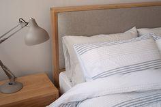 Shetland Bed | Padded Headboard | Natural Bed Company