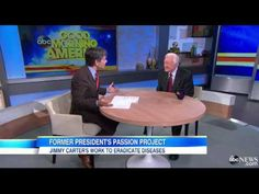 YouTube - Jimmy Carter Fights to Eradicate Diseases