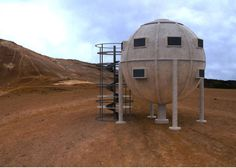 The Ekinoid Project proposes building self-assembled, self-sustaining, stilt-mounted spherical homes on land previously considered unviable.