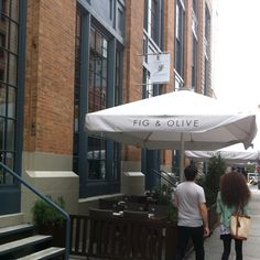 Fig and olive in the meatpacking! 14th street between 9th and Washington. Try them, they're delicious!
