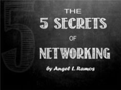 5 Secrets of Networking for Job Seekers