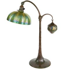 'Turtleback Tile Counter Balance' Desk Lamp by, Tiffany Studios | 1stdibs.com