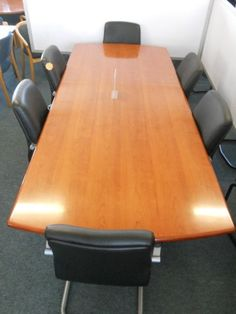 Boardroom and Conference Tables New and Used $$$$$$$$$$$$$$$$$$$$Cherry veneer