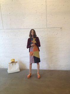 Maryam Nassir Zadeh - Mar Patchwork dress