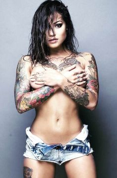 Check out this hot picture of Kayla Cadorna. #inked #inkedgirls #model #sexy #tattoo #women #photography
