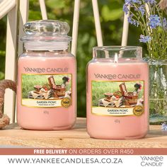 What your plans this weekend? Garden Picnic is a HOT seller this week! Bring your blanket and a basket of the ripest, juiciest fruit for a sunny picnic among the flowers. www.yankeecandlesa.co.za #OctoberFavourites #NewScents #GardenPicnic #YankeeCandle #YankeeCandleSouthAfrica #YankeeCandleSA #Love #Happy #Amazing #HomeDecor Candle Jars, Candles, Garden Picnic, Juicy Fruit, Basket, Free, How To Plan, Amazing, Hot
