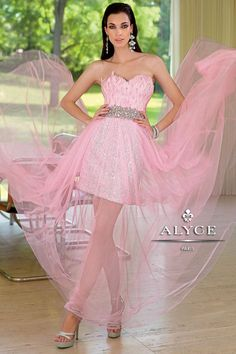 46180d0e771 A-Line Princess Strapless Sweetheart Court Train Tulle Sequined Feather Prom  Dress With Beading