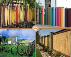 Love the bamboo fence