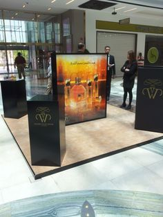 Mall display podium Debenhams Sharq in Kuwait