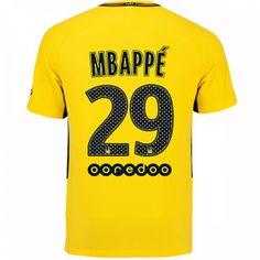Kylian  Mbappe  29  Psg  2017 18  Away  Men  Jersey bb01b917ce45c