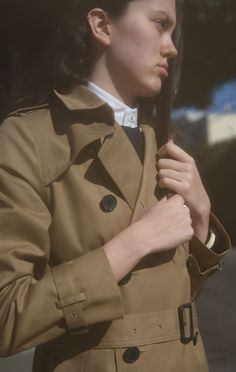 Anaïse | Hyke Trench Coat