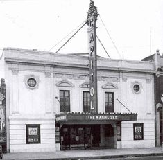 """Capitol Theatre - 2525 W Broad St., The Capitol Theater was opened with Norma Shearer in """"The Waning Sex"""" on 8th November 1926. RICHMOND, VIRGINIA Norfolk Virginia, Richmond Virginia, Old Pictures, Old Photos, Vintage Photos, New Richmond, Virginia History, Home And Away, Vintage Photography"""