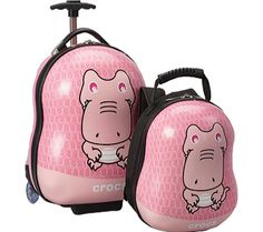 Crocs Baby Duke 2-Piece Travel Set - Pink - Free Shipping & Return Shipping - Shoebuy.com