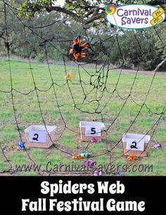 Spiders Web Fall Festival Game