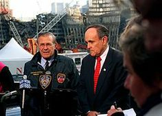 Former Mayor Rudy Giuliani;  Leader during the 9/11 Crisis and Aftermath