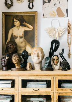 ceramic busts collection