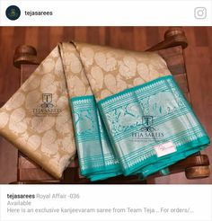 Teja Sarees, Formal Saree, Silk Saree Kanchipuram, Indian Fashion Trends, Wedding Silk Saree, Sari Blouse Designs, Trendy Sarees, Elegant Saree, Traditional Sarees