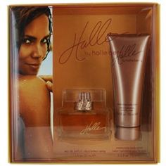Halle Giftset by Halle Berry Halle Berry Perfume, Perfume Gift Sets, Bachelorette Gifts, Parfum Spray, Body Lotion, Perfume Bottles, Fragrances, Beauty, Designer Perfumes