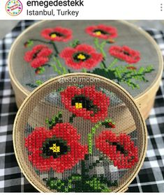 kanavice Embroidery Designs, Modern Embroidery, Ribbon Embroidery, Embroidery Art, Cross Stitch Embroidery, Cross Stitch Art, Cross Stitch Flowers, Cross Stitch Designs, Cross Stitching