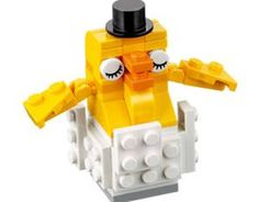 Free LEGO Monthly Mini Build – Free LEGO Baby Chicken