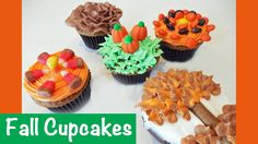 Simple to Make Fall Autumn Cupcakes with Jill  http://www.todayscreativemom.com