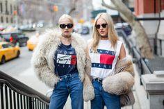 Die Bloggerinen Shea Marie & Caroline Vreeland in der Tommy Fall Kollektion! #EuropaPassage #EuropaPassageHamburg #style #fashion #mode #trend #outfit