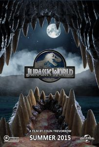 The story is based on a dinosaur which is created at Jurassic World, which is a theme park, located on an island, called Isla Nublar, which was the site of the original Jurassic Park. The Jurassic World contain so many species of Dinosaurs' clones. Jurassic World Poster, Jurassic World Wallpaper, Blue Jurassic World, Jurassic Park Series, Jurassic World Dinosaurs, Snowman Wallpaper, Jurrassic Park, Dinosaur Wallpaper, T Rex