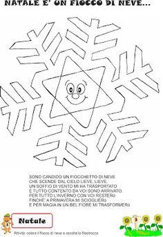 A scuola con poldo schede didattiche sulla neve inverno for Maestra gemma schede inverno