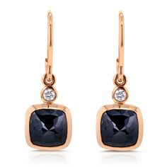 Nice Diamond Earrings Black diamonds and rose gold are unstoppably beautiful when combined together, j... Check more at http://24shopping.tk/fashion-clothes/diamond-earrings-black-diamonds-and-rose-gold-are-unstoppably-beautiful-when-combined-together-j/