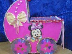 DIY: Pañalera de carton minnie mouse