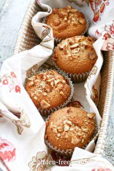 Gluten free vegan orange almond muffins