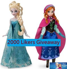 Enter to win: Frozen Doll Set | http://www.dango.co.nz/s.php?u=eUvfxNC31853