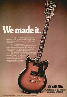 Yamaha advertisement (1977). We Made It