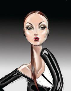*XAVER`s*: Fashion Illustration, Nuno Da Costa > like works ! ! !