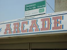arcade - used to spend hours & hours at the arcade!