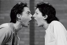Marina Abramović, AAA-AAA, 1978. Black and white single-screen video. Courtesy the artist and Lisson Gallery.