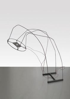 Filmografica Floor lamp by Marti Guixe for Danese via guixe.com