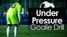 10 Soccer Goalie Drills to Block Every Shot - Soccer Coaching Pro Soccer Goalie, Soccer Drills, Soccer Coaching, Soccer Tips, Soccer Ball, Volleyball Setter, Volleyball Shirts, Volleyball Pictures, Cheer Pictures