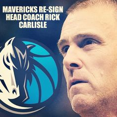 It's official. We have re-signed our head coach Rick Carlisle!