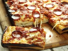 The Food Lab: Detroit-Style Pizza Is the Best Thing You're Gonna Make This Year | Serious Eats